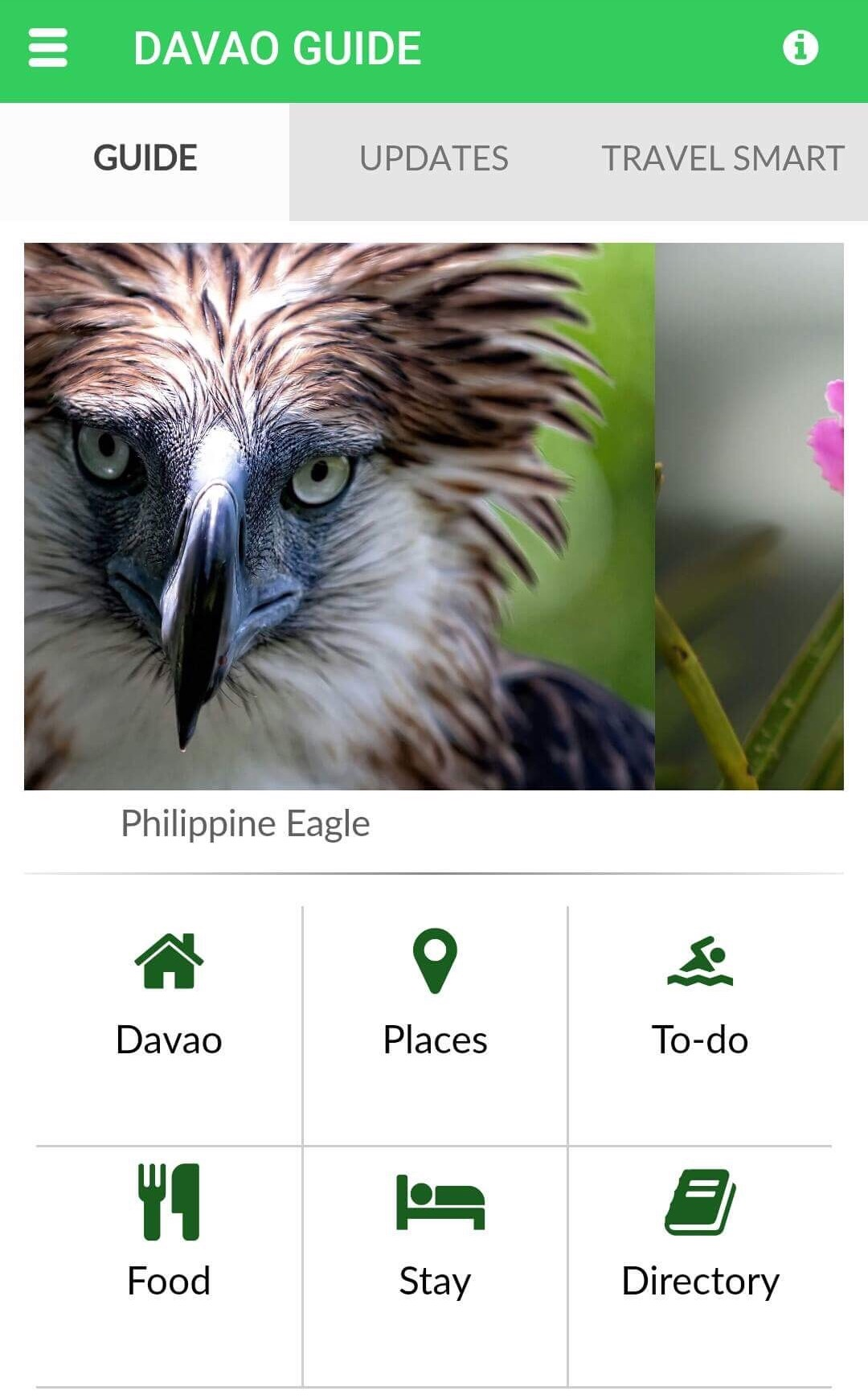 DAVAO GUIDE: A Smart App to Digitize  Tourism Experience in Davao