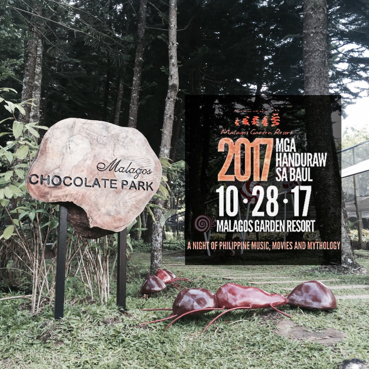 Philippines' only Resort with Chocolate Museum disguises for Halloween 2017 with Soulful Reverie