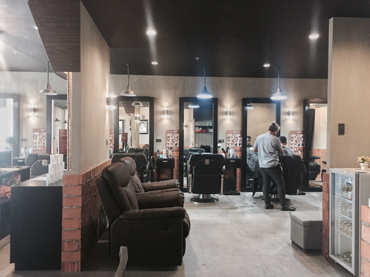 The Usual Barber Chair to an All-in Grooming Throne in Davao| Your CHOIce