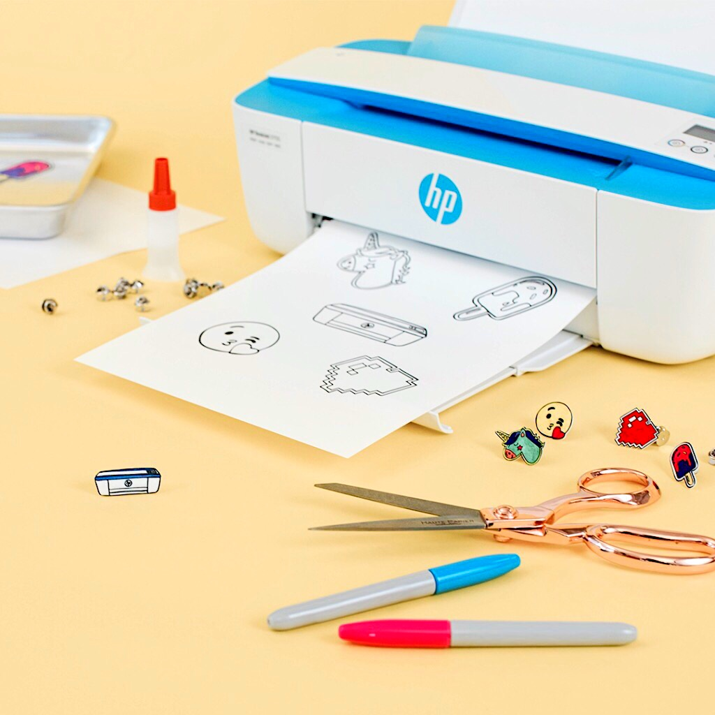 VIBRANT BUNDLE : Free Ink with HP DeskJet Ink Advantage Printer