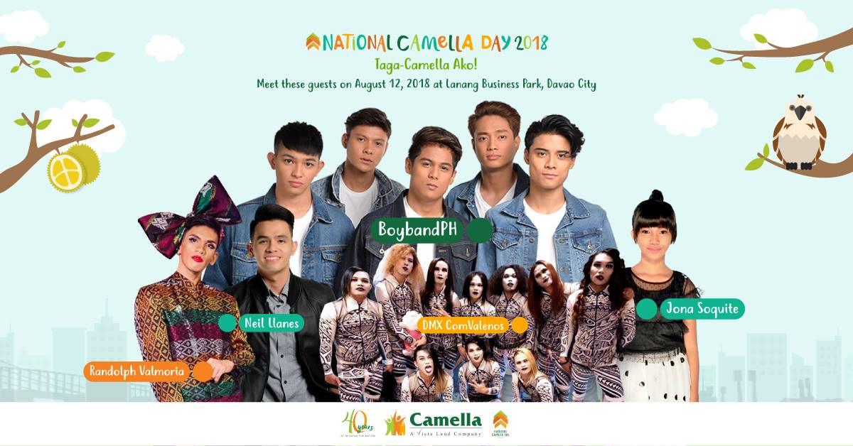Everything You Want to Know about the National Camella Day 2018,Davao