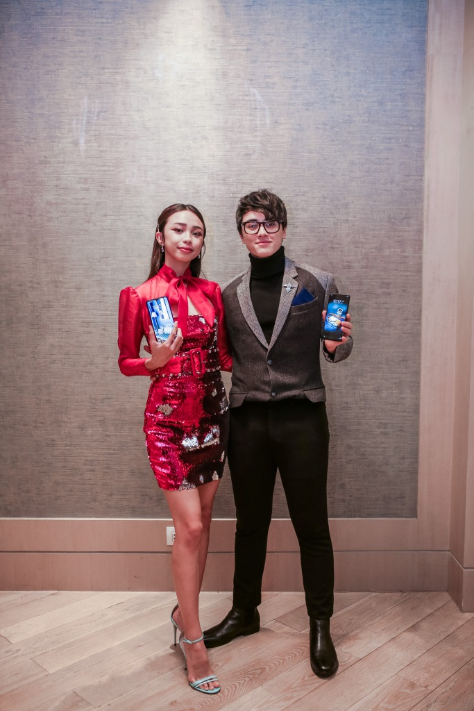 Maymay Entrata and Edward Barber