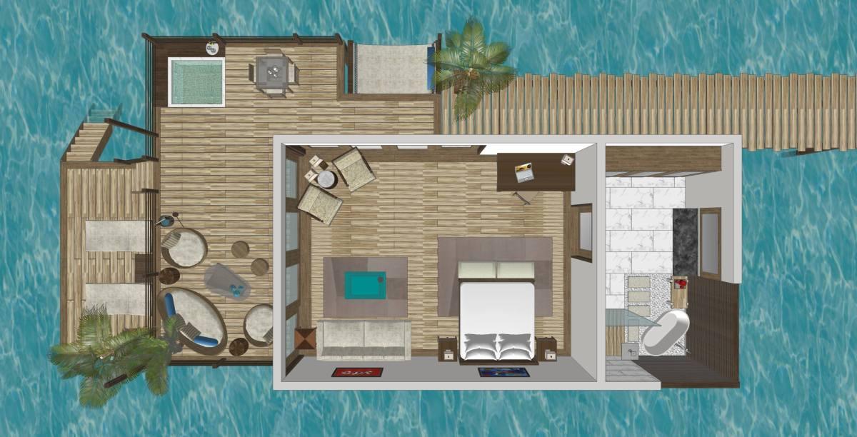 Avara : A Not-for-everyone Maldivian-themed Resort in Taytay,Palawan