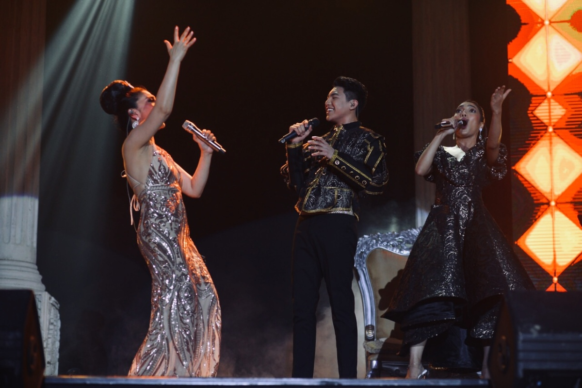 "Lani, Darren and Jona, to tremble Davao's concert scene as ""The Aces"""