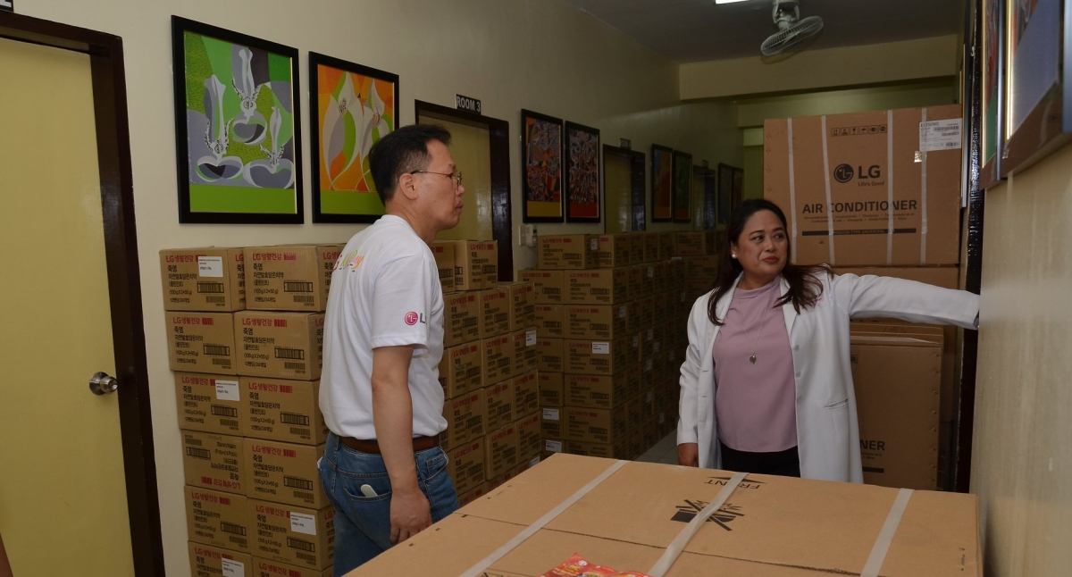 LG Electronics Gives Priceless Hope in Mindanao