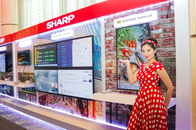 Better Life at Work Awaits with SHARP Revolutionary Products