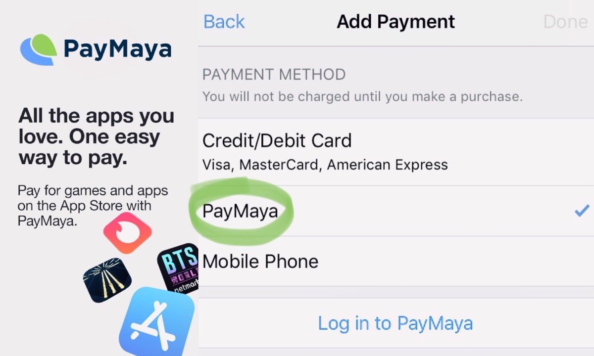 Now You Can Use PayMaya To Pay For Apple Services | How to Add Payment Method