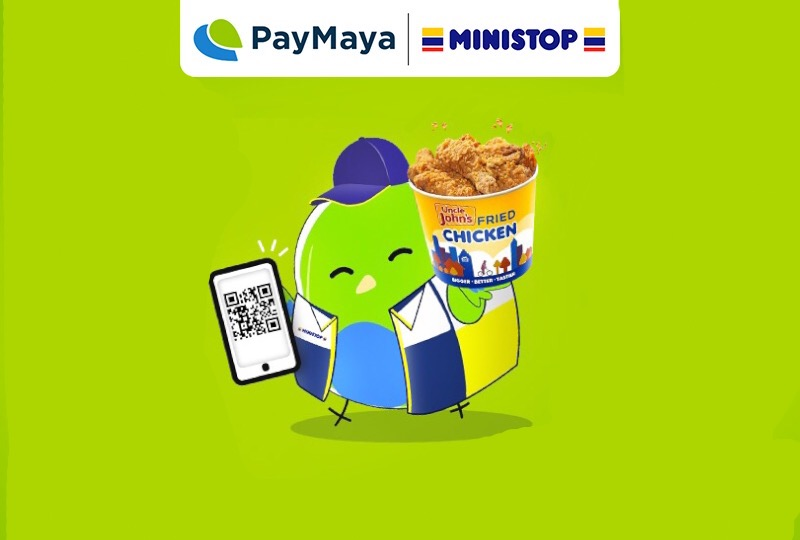 Dropping by at Ministop : 3 Rewarding Reasons Why Not to Pay in Cash. Just PayMaya!