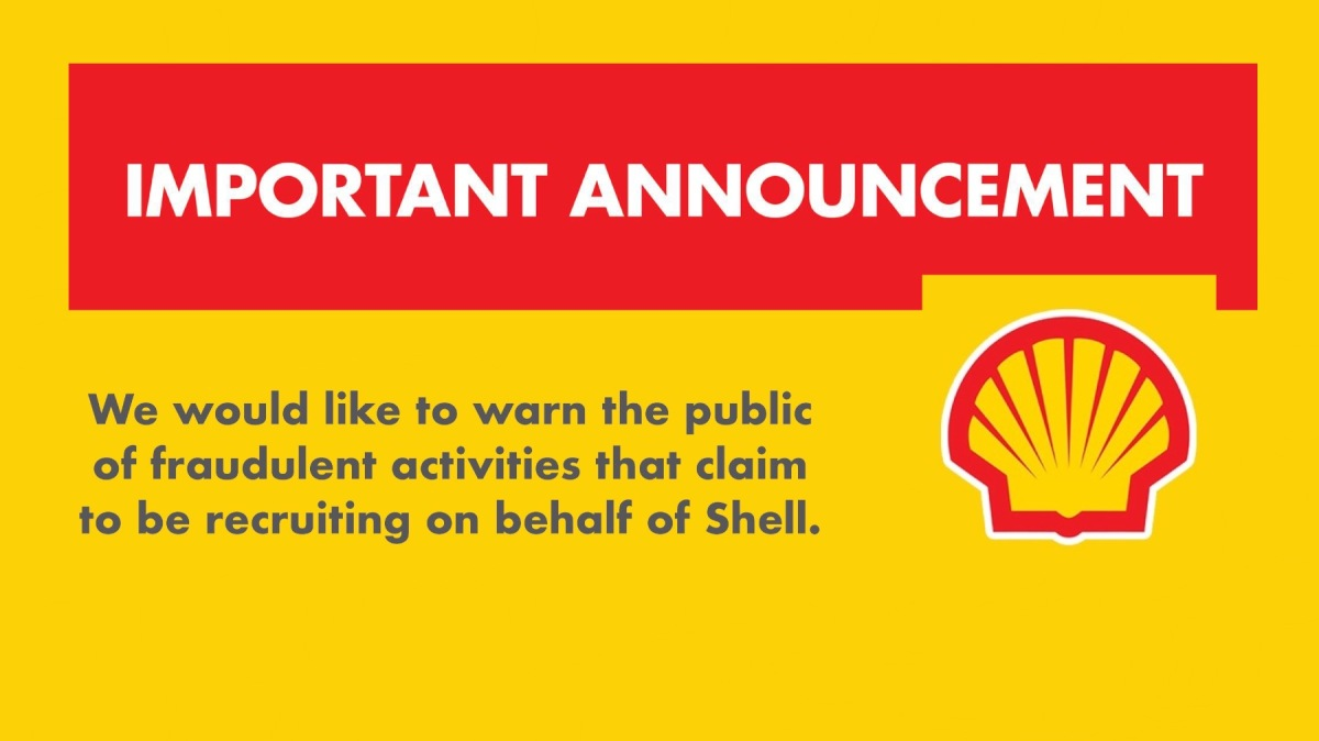 Recruitment Scam : False Job Postings For Pilipinas Shell