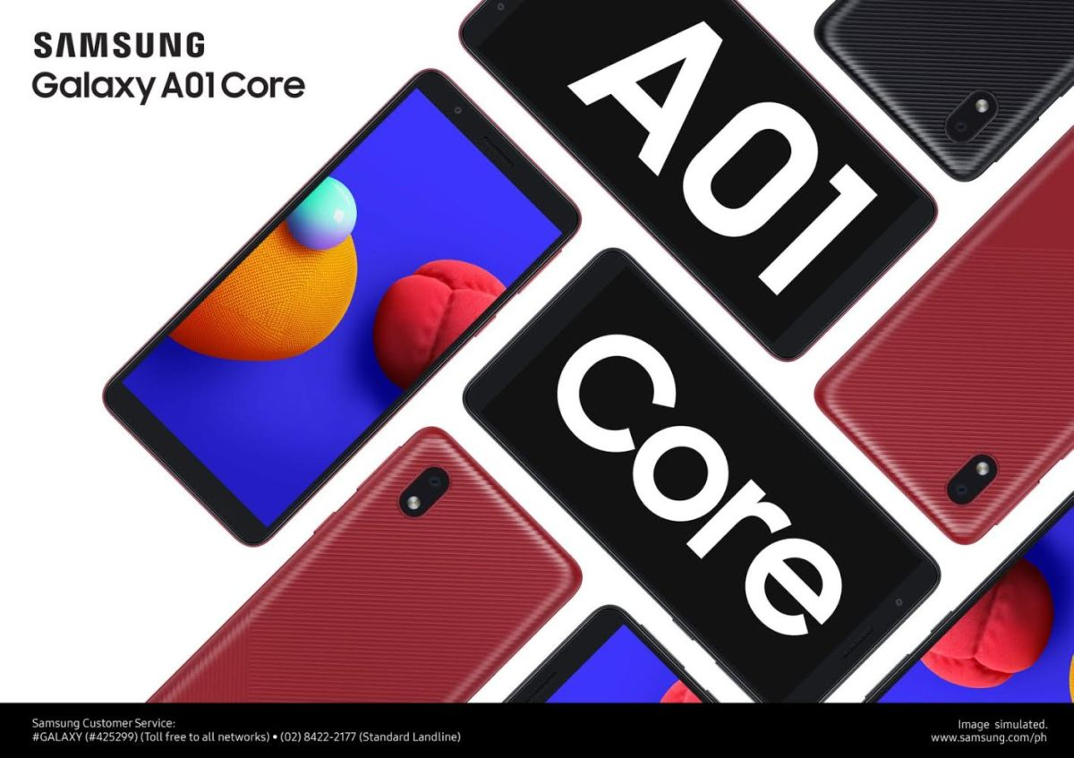 SAMSUNG Galaxy A01 Core at PHP 3,990 | Your most affordable work smartphone yet
