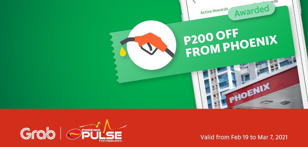Grab This Treat! P200 Off When You Gas up at Phoenix Stations in Davao City