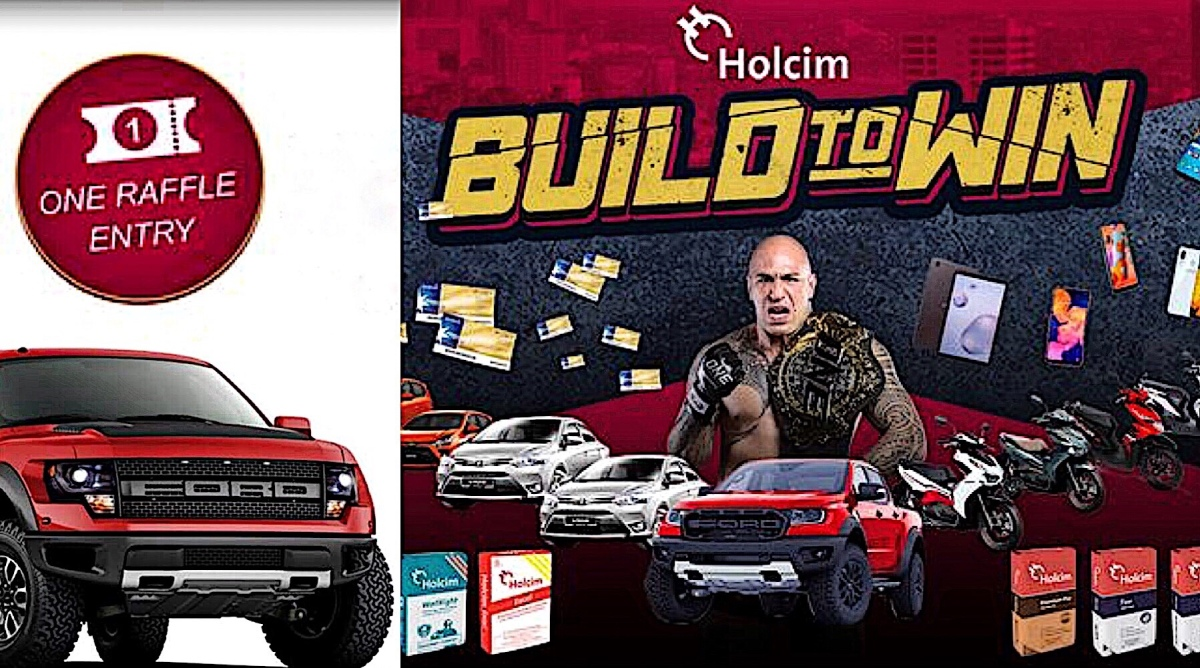 Holcim Raffles Off 10 Brand New Cars For Mindanao-Based Buyers | How To Join The Raffle